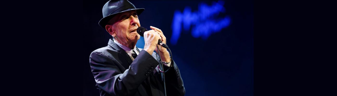 Leonard Cohen on dented perfection