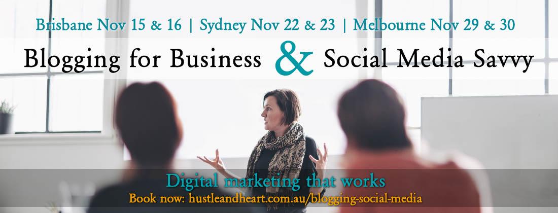 Business blogging course